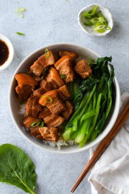 Hong Shao Rou (Shanghainese Braised Pork Belly)