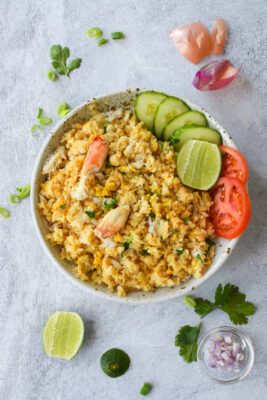 Thai-Style Crab Fried Rice