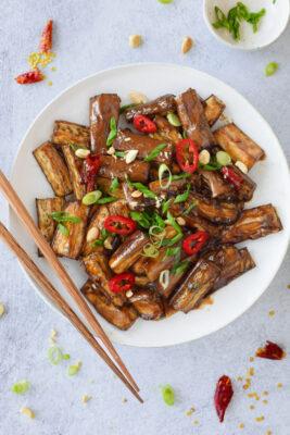 5-Spice Braised Eggplant