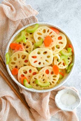 Tangy Lotus Root Salad