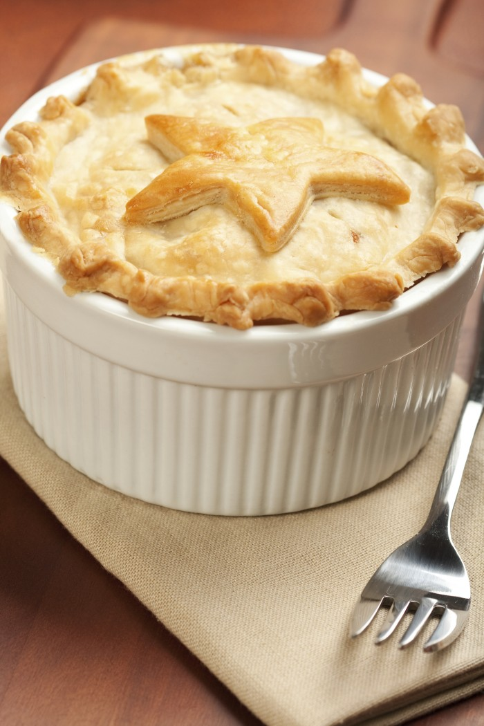 I stock photo pot pie