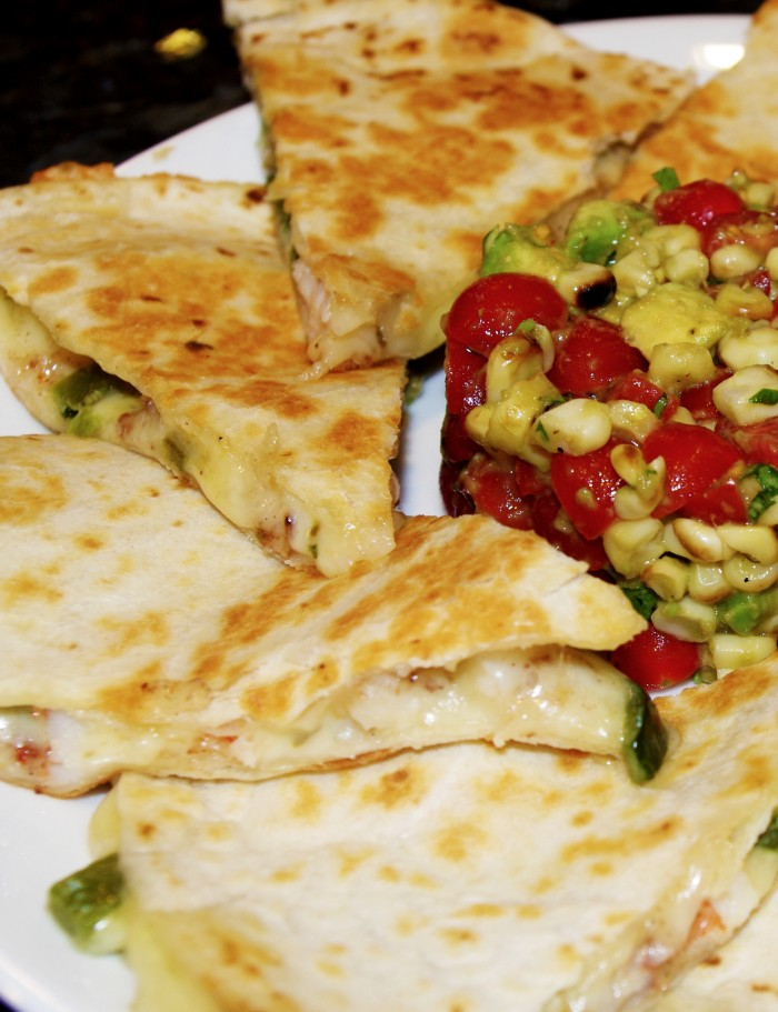 Chinese Five Spice Shrimp Quesadillas 009