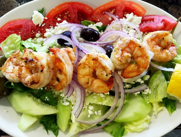 Greek salad with shrimp 3 for web