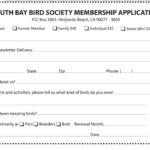 SBBS Membership Application