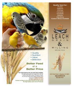 Grain and Milling Pet Bird Mixes