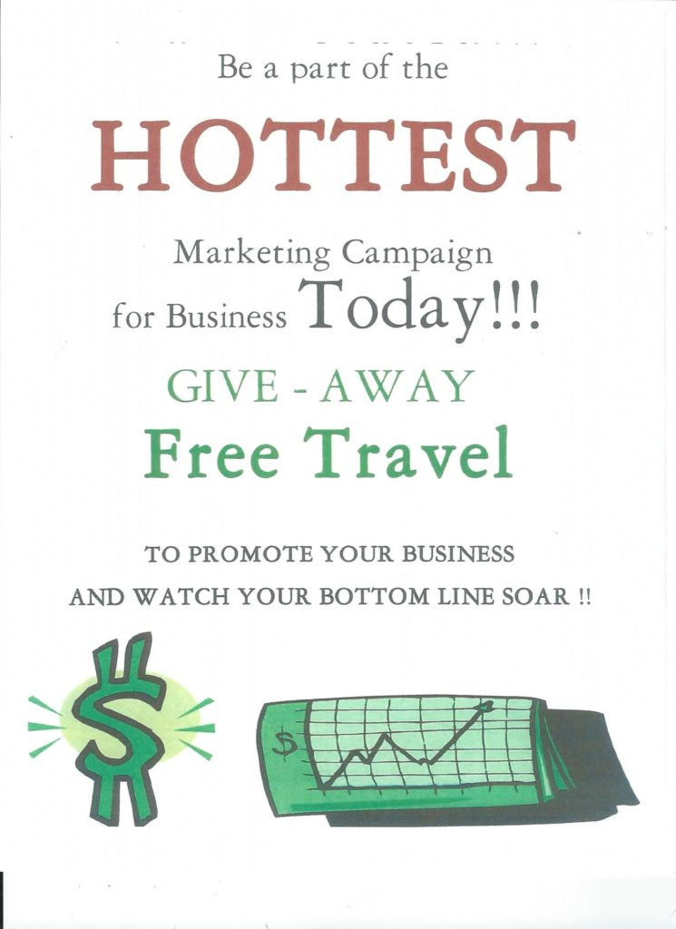 Be apart of the hottest marketing campaign.