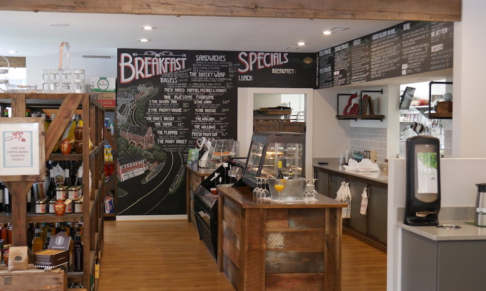 Aldie General Store and Cafe Service Area