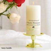 MemorialCandle_StandSet_Ivory