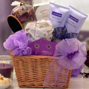 LavenderRelaxationSpaGiftBasket