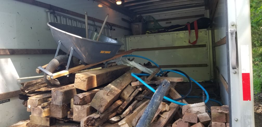 Construction waste removal in Lynchburg