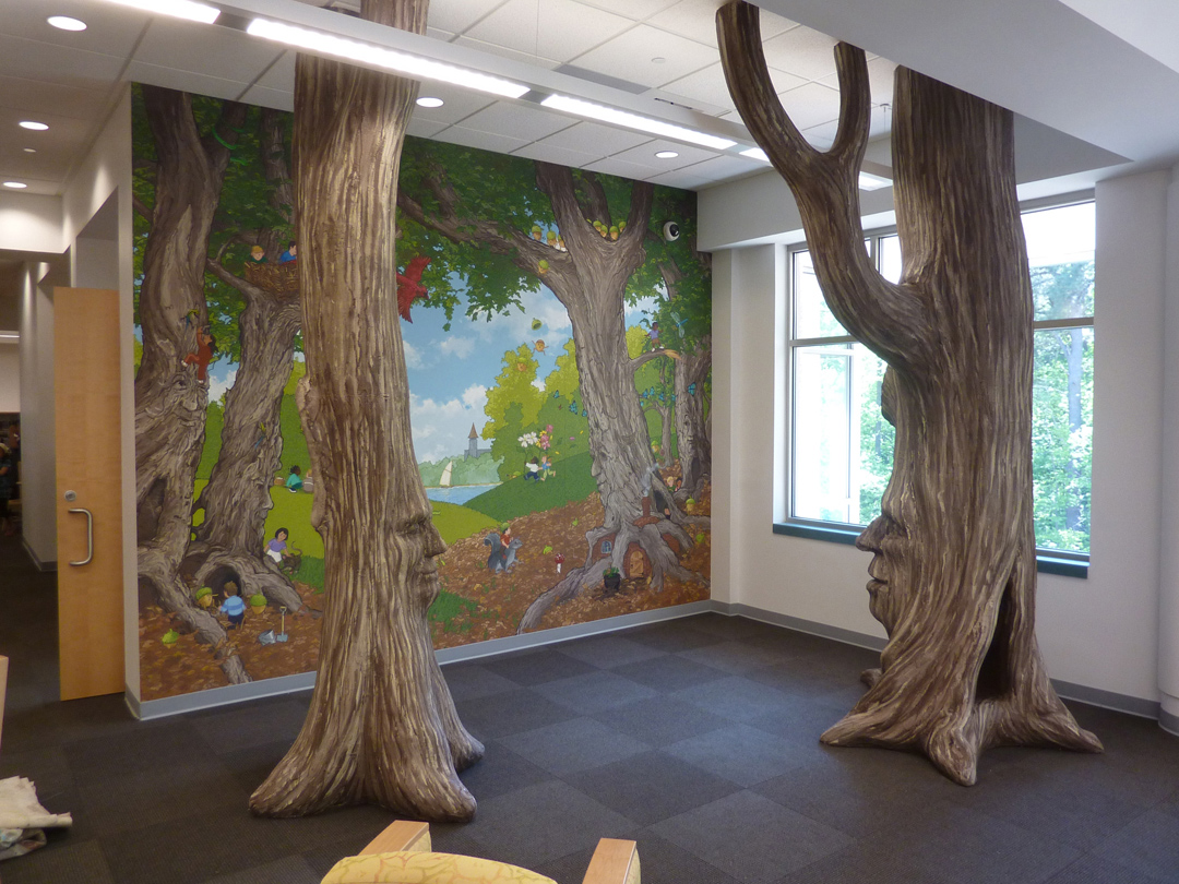 Chapel Hill Library Children's Reading Room