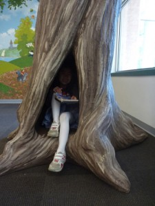 A hidey hole for kids.