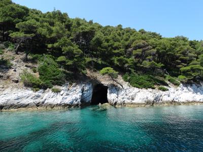 Dassia Island Cave