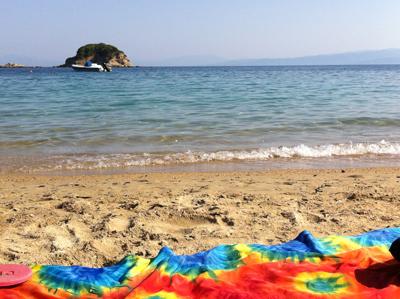 Sweet spot on Trulos Beach