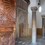 Saadien Tombs - the small rises on the floor are children and babies