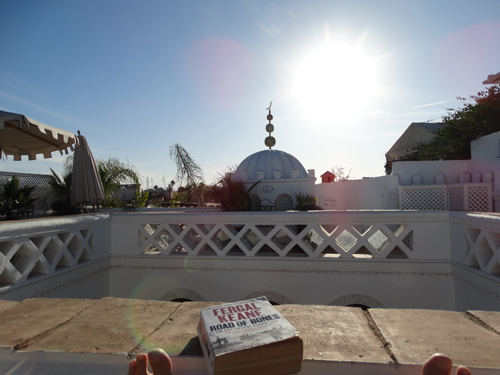 From the rooftop terrace of our lovely Riad