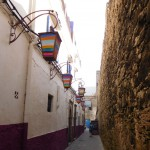 The alley leading to our lunch spot - il Mare - Essaouira