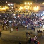 Place Jamaa El Fna on a quiet Sunday night