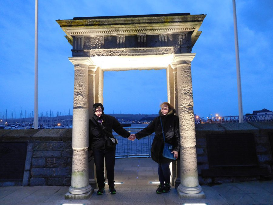 The Mayflower Steps - Plymouth