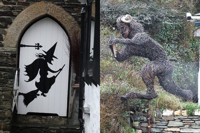 Boscastle - Home of the Museum of Witchcraft...and twig sculptures