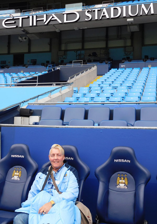 Heated seats on the side line for the substitutes and managers. No expense spared.