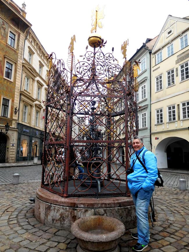 Prague water well
