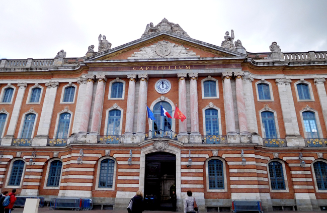 Power centre of Toulouse - The Capitole.