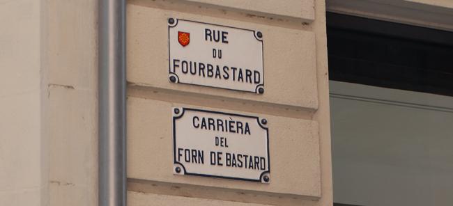 Rue du Fourbastard - te he he!