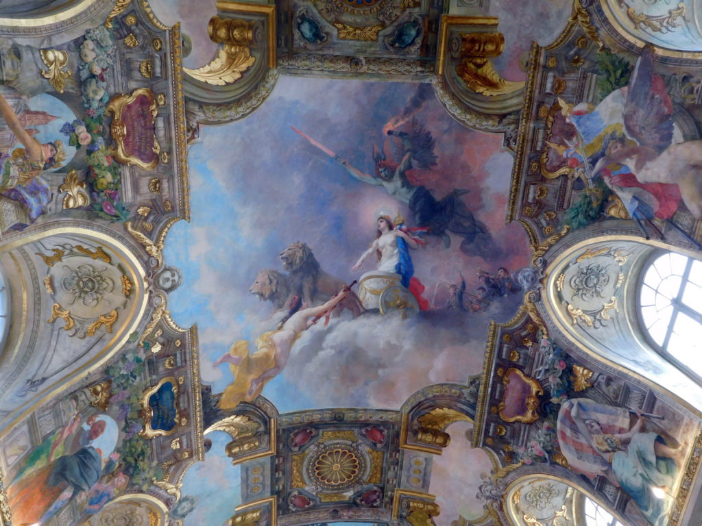 The marvellous Salle des Illustres in the Capitole Building.