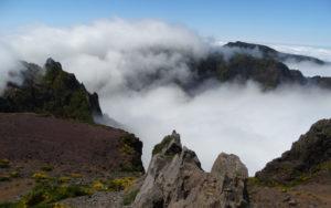 Views from the top of Pico do Arieiro