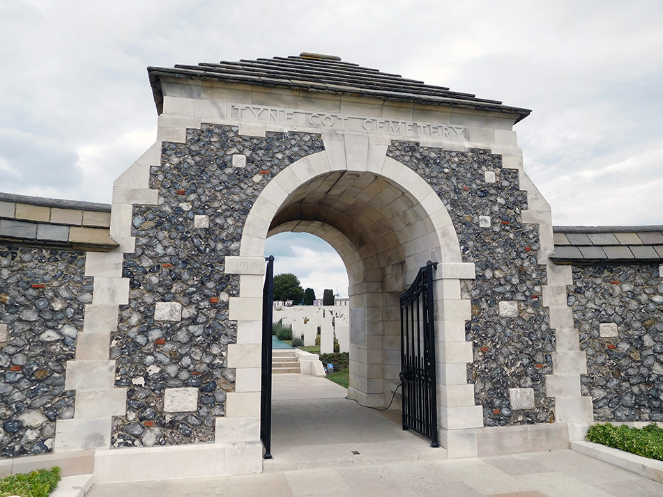 Tyne Cot Cemetery - The largest and most visited CWGC cemetery