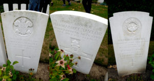 They don't name soldiers like they used to. Marmaduke shares my mum's birthday. CWGC staff who worked for the Commission in Ypres, buried alongside the fallen.