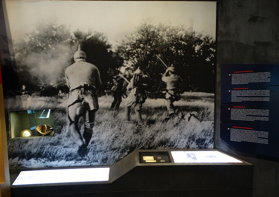 In Flanders Fields Museum in the Cloth Hall is a very educational way to spend a few hours getting close to history.