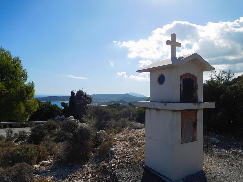 Greek Orthodox shrine, Zakynthos