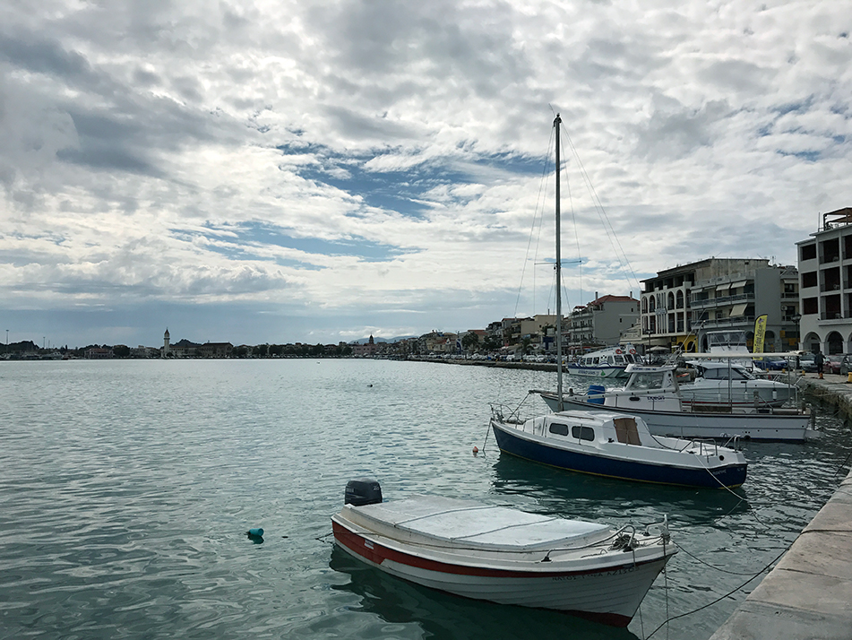 Island life means everyone has a boat - Zakynthos Town harbour