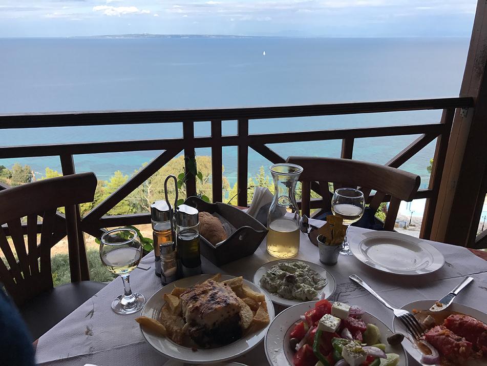 Our favourite taverna on Zante - Agnadi at Vasilikos