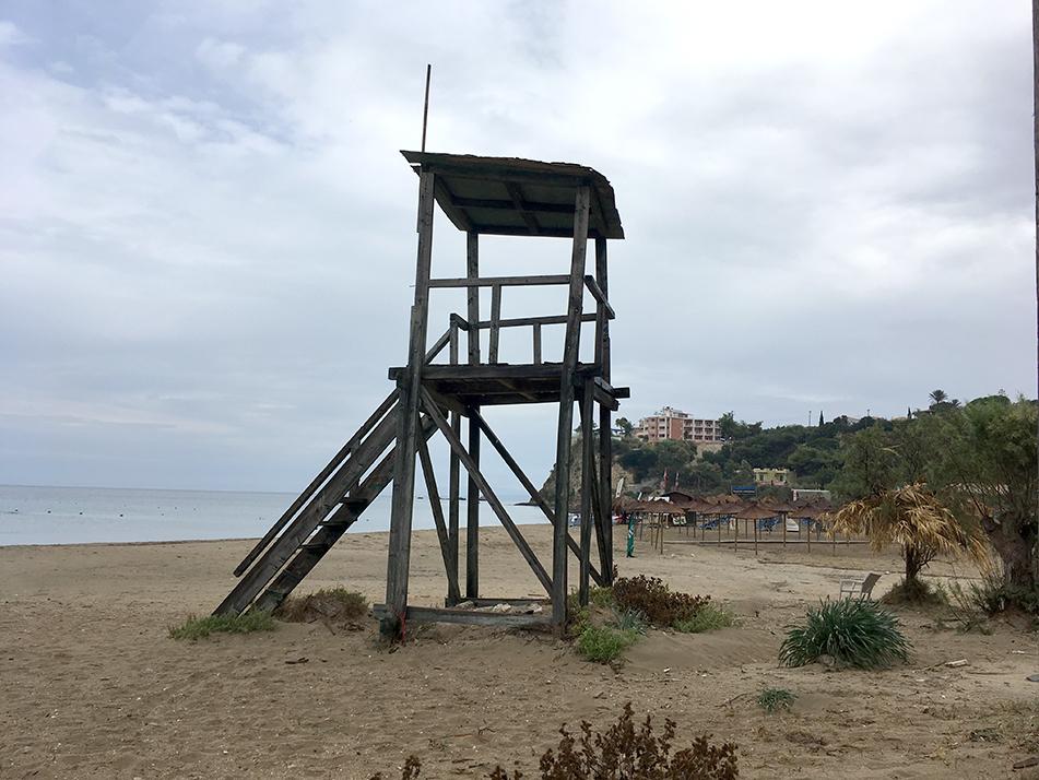 Surf Lifesaving tower, Kalamaki beach