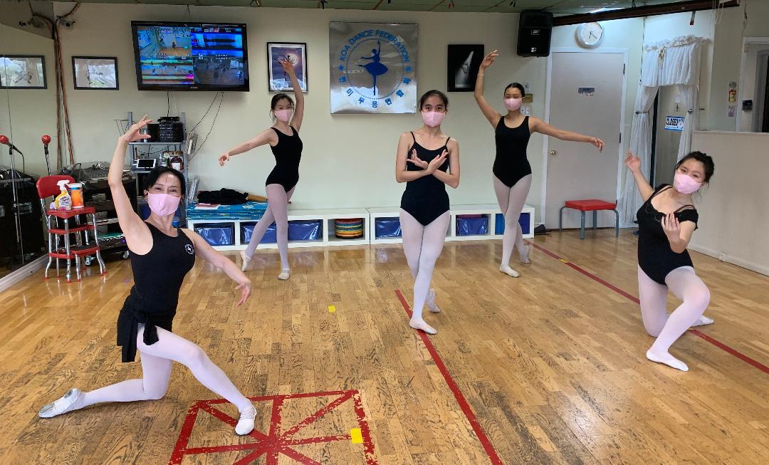 875. 진발레스쿨에 다시 오신 것을 환영합니다.  Welcome Back to Jean Ballet School.
