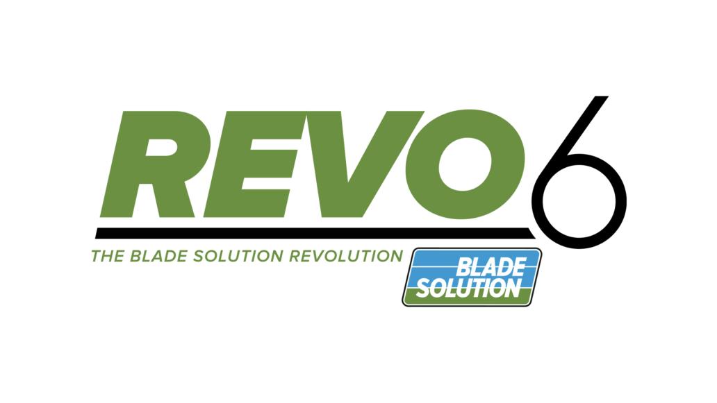 REVO 6 The Blade Solution Revolution by Blade Solution, logo design
