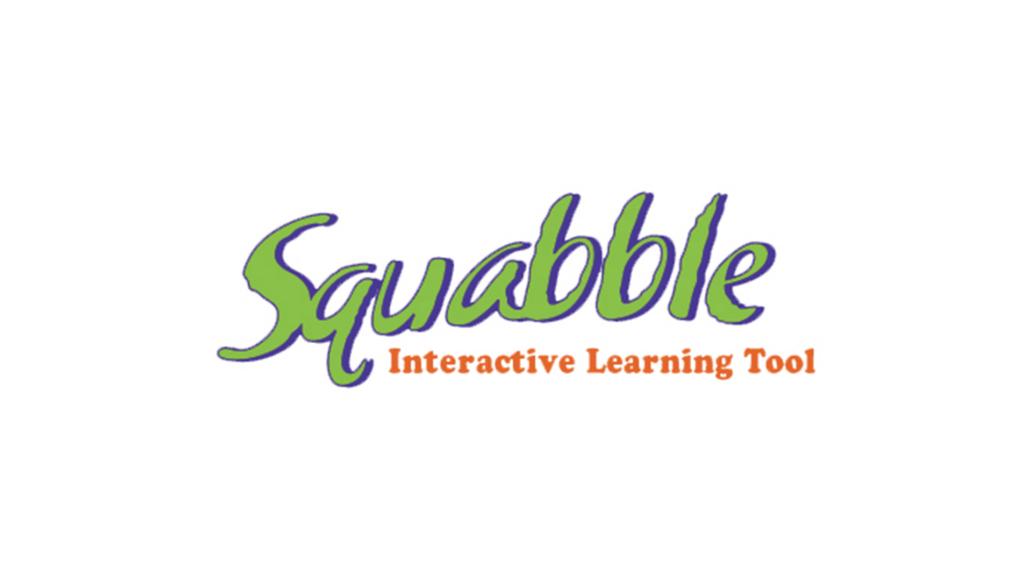 Squabble Interactive Learning Tool logo design