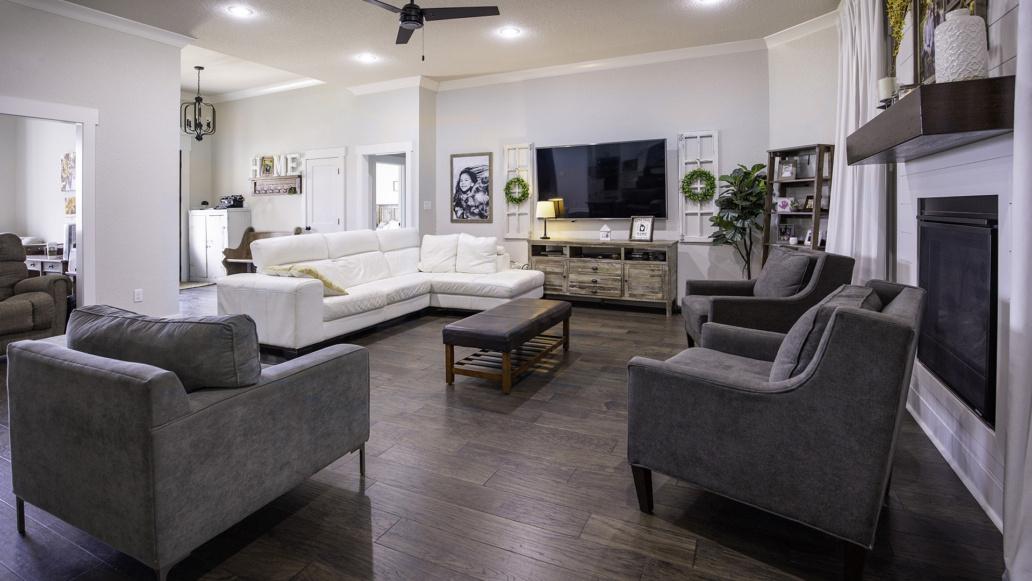 Real Estate Photography interior living room, interior decor, interior design.