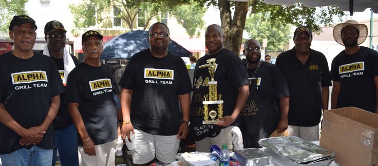 100 Black Men Cook Off