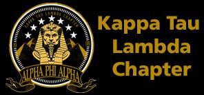 Logo KTL Chapter of Alpha Phi Alpha