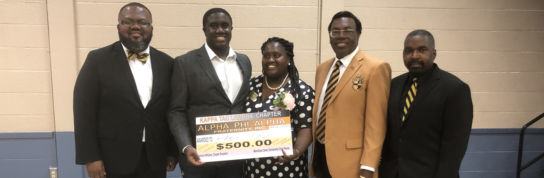 MLK Scholarship Winner