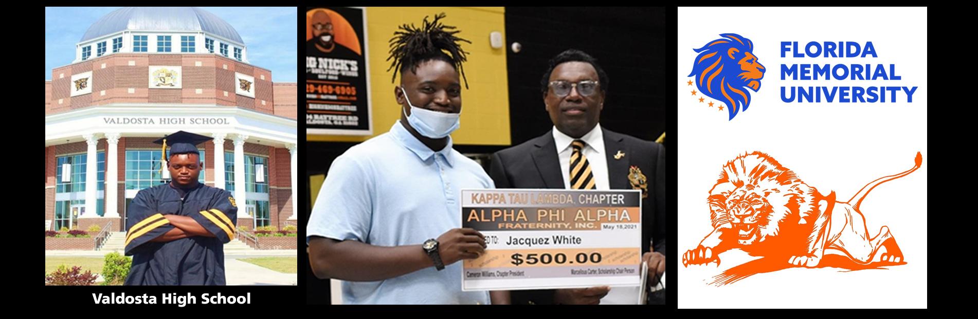 2021 Scholarship Winner- JacQuez Wright