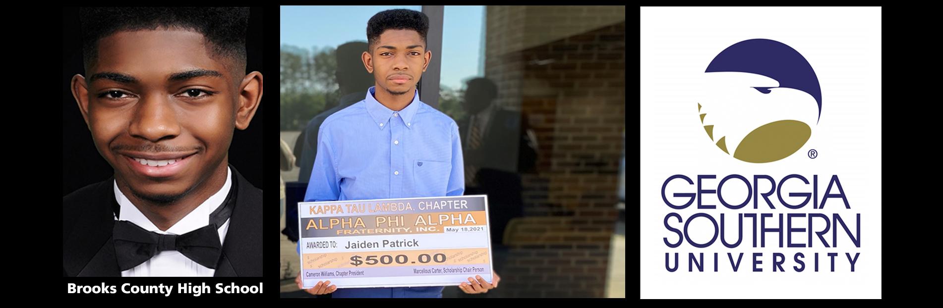 2021 Scholarship Winner: Jaiden Patrick