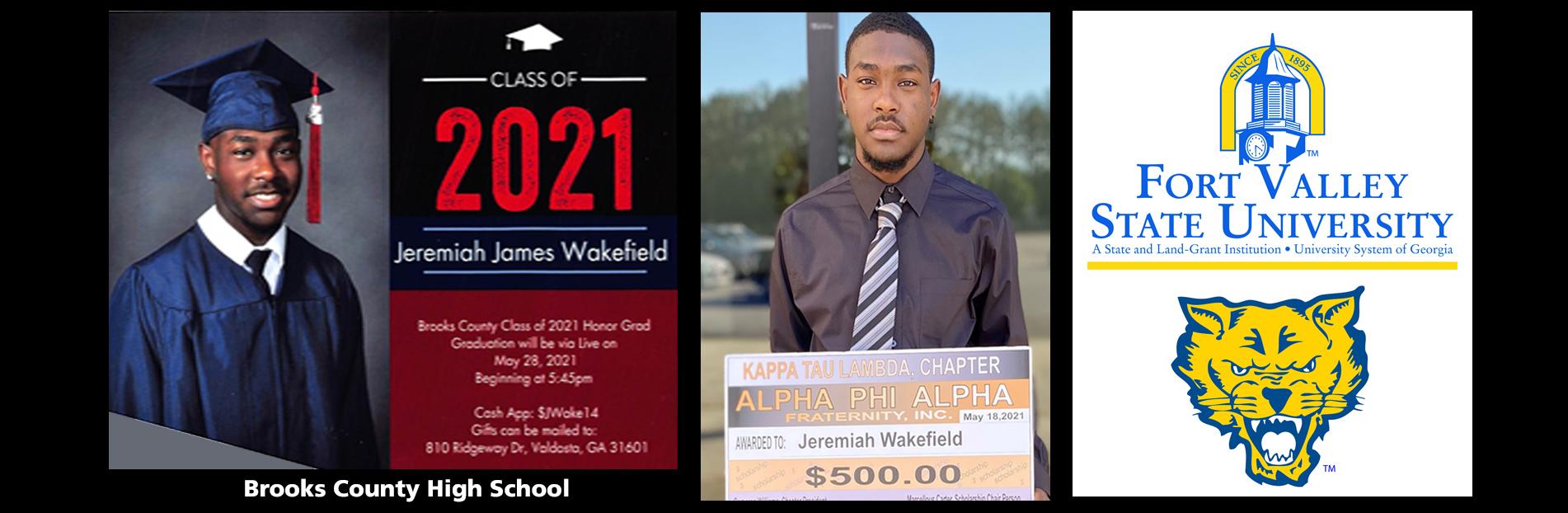 2021 Scholarship Winner: Jeremiah Wakefield