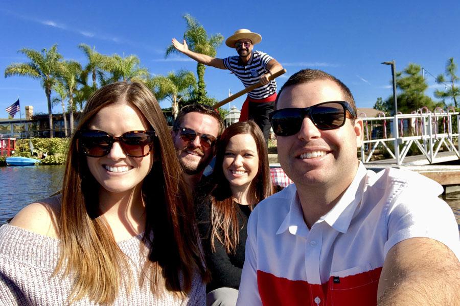 San Diego Date Night Venetian Gondola