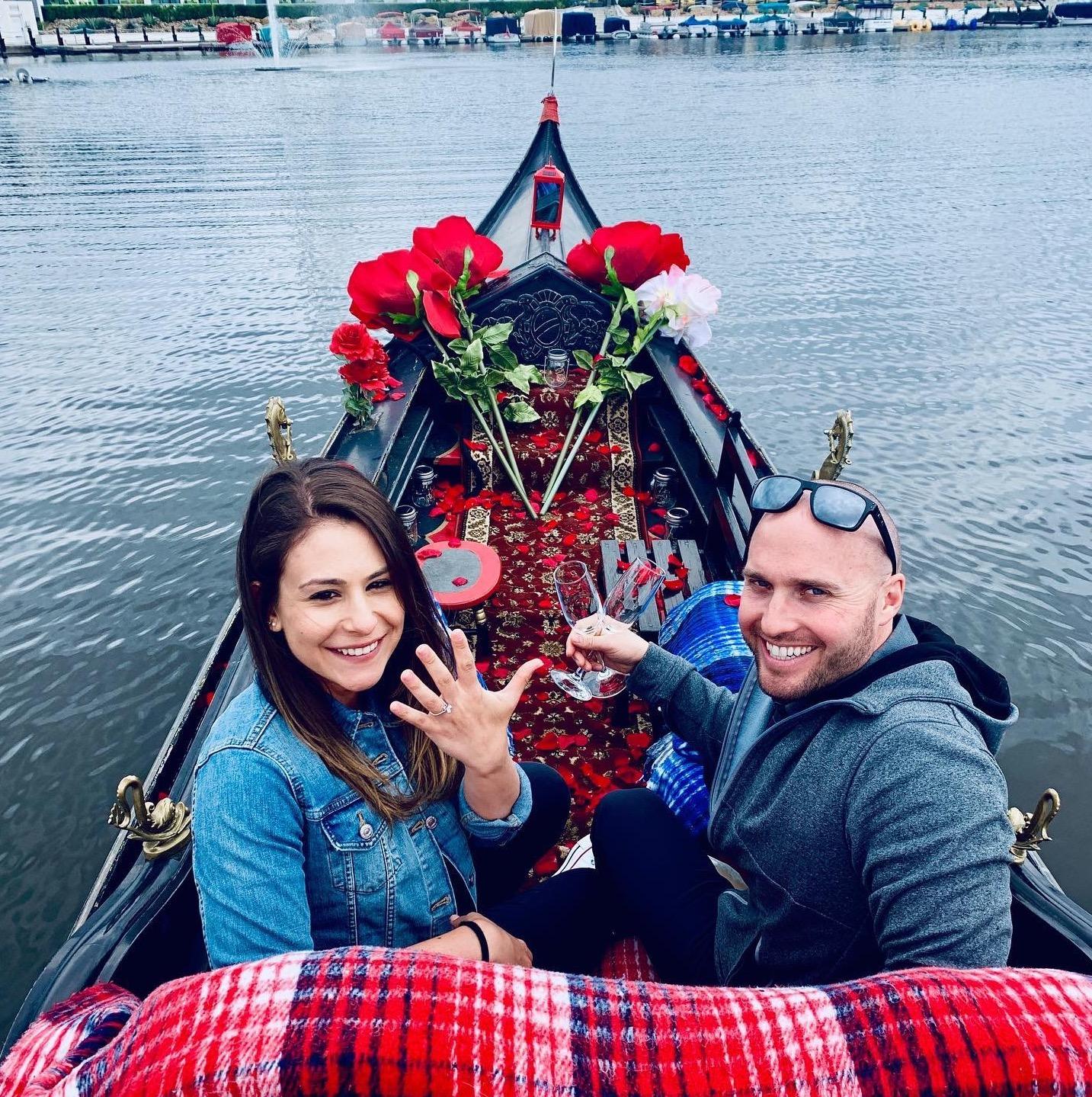 Romantic Wedding Proposal | Awesome San Diego Date Night