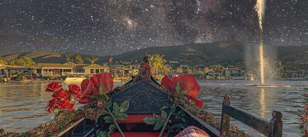 Starry Eyed Surprise   Gondola Rides by Black Swan Gondola